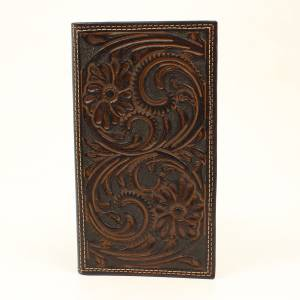 Nocona Floral Scroll Rodeo Wallet