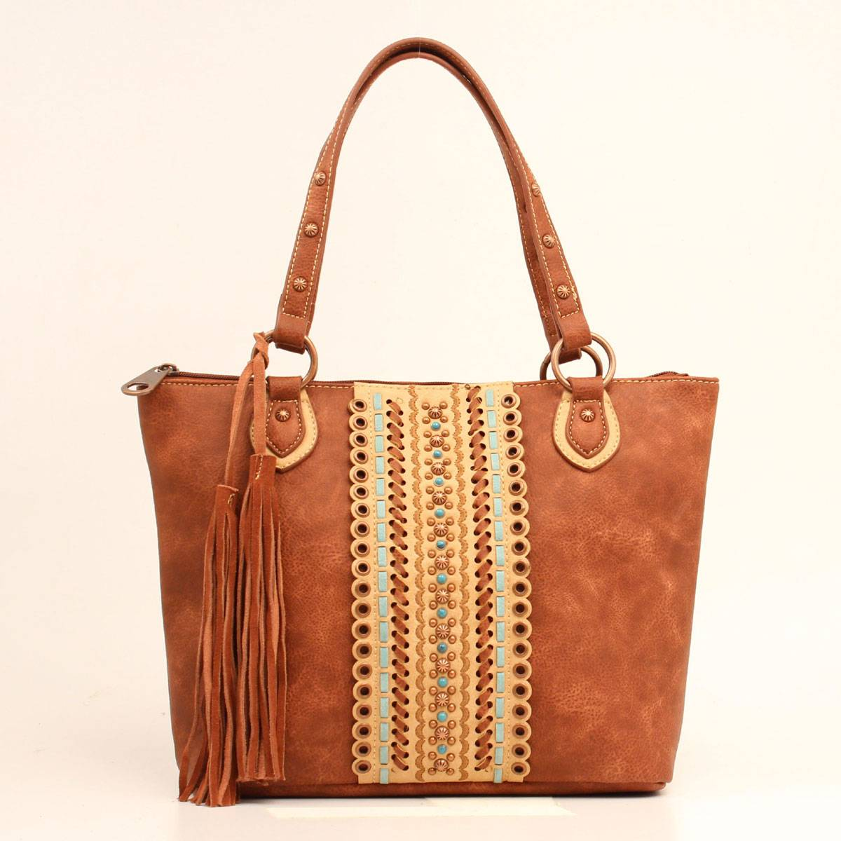Image result for Authentic Leather Tote Bags Busted