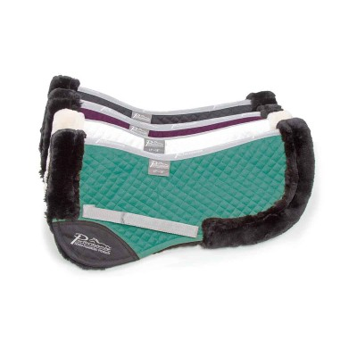 Shires Performance Synthetic Suede Half Pad
