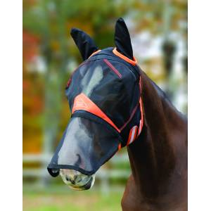 Shires Full Face Fly Mask with  Detachable Nose