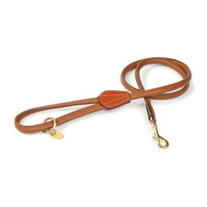 Shires Digby & Fox Rolled Leather Dog Lead
