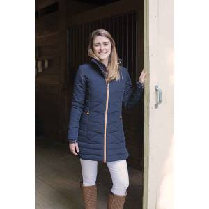 Shires Aubrion Delaware Long Padded Coat - Ladies