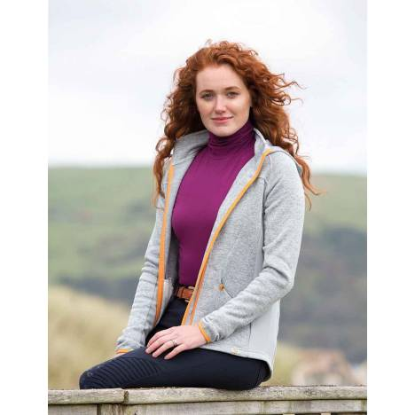 Shires Aubrion Pompano Fleece Hoodie - Ladies
