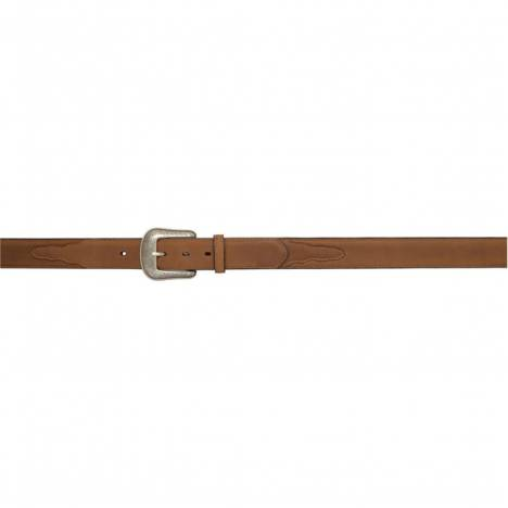 "3D 1 1/2"" Single Stitch Western Basic Belt - Men's - Brown"