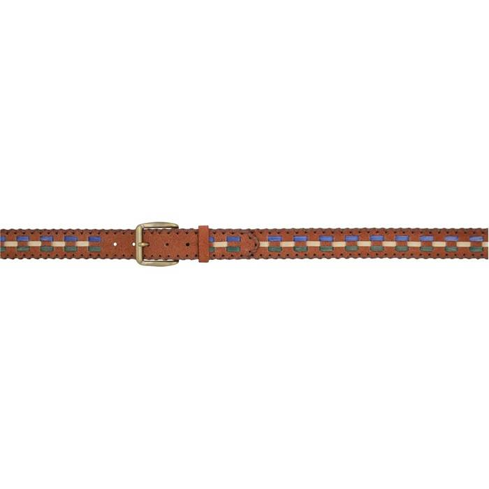 3D 1 12 Multi Lacing Western Fashion Belt Mens BrownMulti