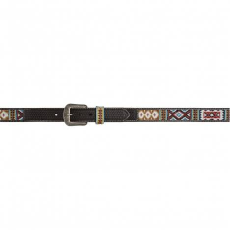 "3D 1 1/2"" Aztec Western Fashion Belt - Men's - Chocolate/Muti"