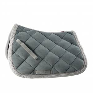 B Vertigo Velour Lux All Purpose Saddle Pad