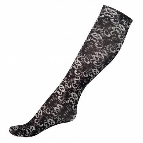 Horze Amira Thin Printed Socks - Kids