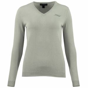 B Vertigo  Nina Classic V-neck Sweater - Ladies