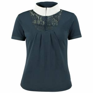 Horze Lace-Detail Show Shirt -  Ladies