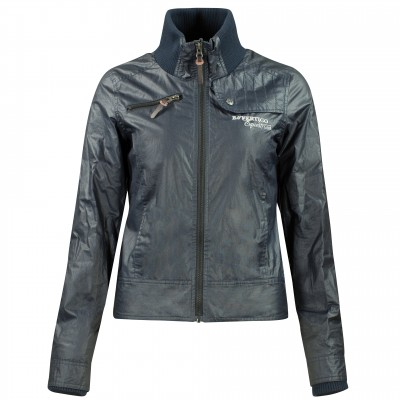 B Vertigo  Tess Light Oil-Skin Jacket - Ladies