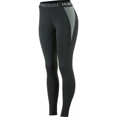 Horze Madison Silicone Knee Patch Tights -  Ladies