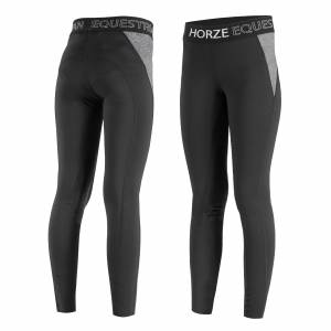 Horze Madison Silicone Knee Patch Tights - Kids