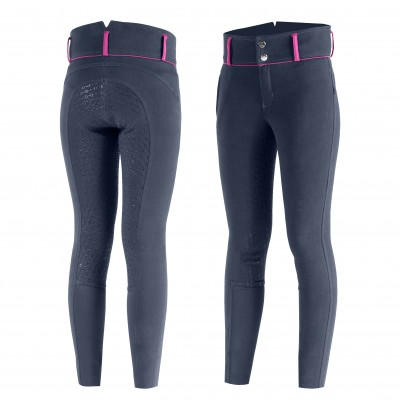 Horze Daniela Silicone Full Seat Breeches - Kids