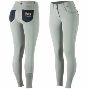 B Vertigo  Kimberley Silicone Knee Patch Breeches - Ladies