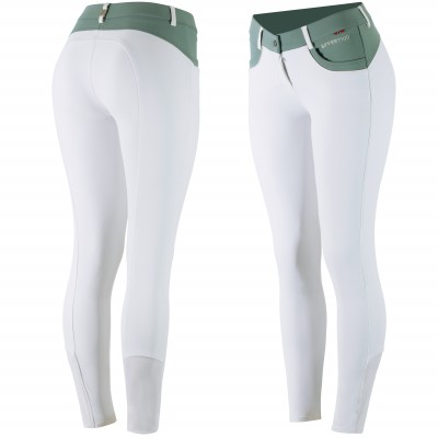 B Vertigo  Melissa Silicone Knee Patch Show Breeches - Ladies
