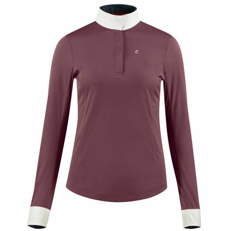 HorZe Crescendo Blaire Long Sleeve Functional Show Shirt - Ladies - Barely Pink