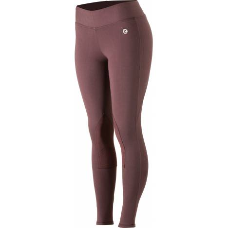HorZe Spirit Knee Patch Active Tights - Ladies - Black