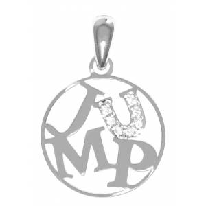 Kelly Herd Sterling Silver Jump Pendant