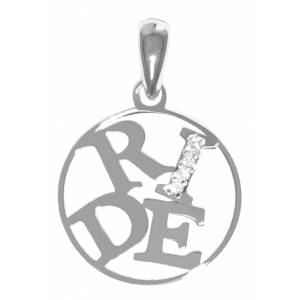 Kelly Herd Sterling Silver Ride Pendant