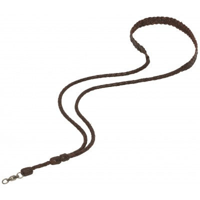 Weaver Braided Leather Lanyard