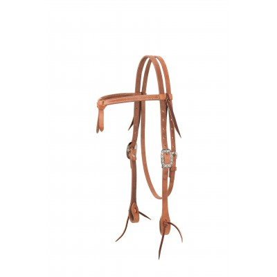Weaver Futurity Knot Browband Headstall