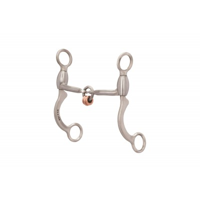 Weaver Pro Series Sweet Iron 3-Piece Lifesaver Mouth with  Copper Rings - 6-1/2