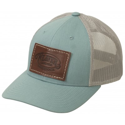 Weaver Ladies Mesh Back Cap with Leather Patch