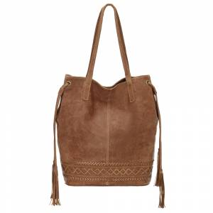 TrueLu The Blake Bucket Tote