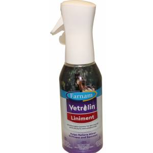 Farnam Vetrolin Liniment Equiveil Spray 360