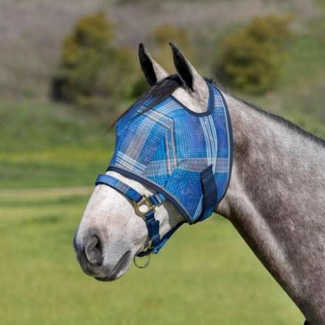 Kensington Signature Fly Mask with Web Trim
