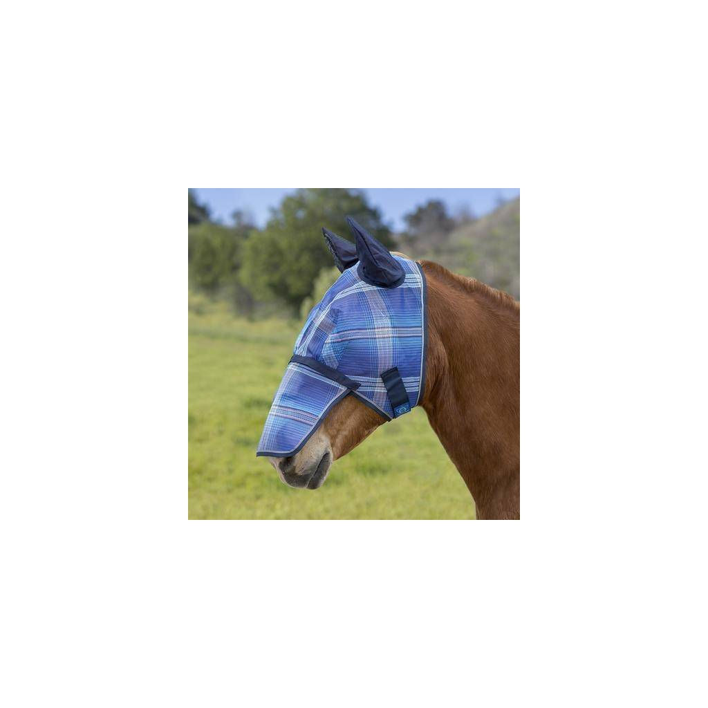 Kensington Signature Fly Mask with Ears and Removable Nose