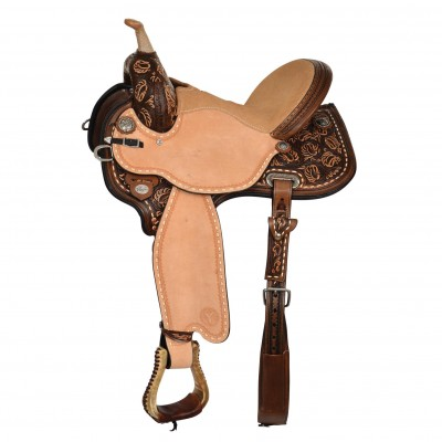 Circle Y Kaminski Limelight Flex2 Barrel Saddle