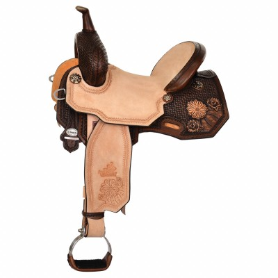 Circle Y Josey Ultimate Cash Desert Barrel Saddle