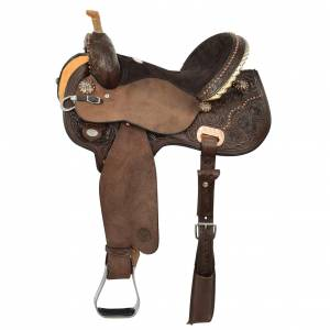 Circle Y Kenda Lenseigne Black Powder Flex2 Shooter Saddle