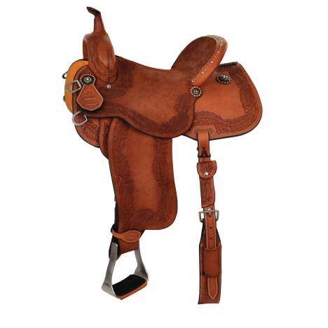 Reinsman Sharon Camarillo Diva BRX Hardseat Barrel Saddle