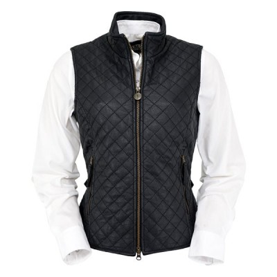 Outback Bunbury Leather Vest - Ladies