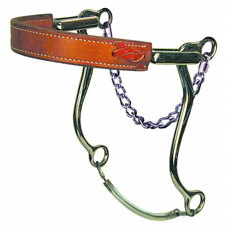 Reinsman Stage C Mechanical Hackamore with Flat Noseband