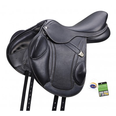 Bates Advanta Luxe Leather Eventing Saddle with CAIR