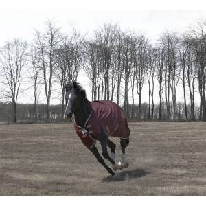 Tuffrider Optimum 1680D Triple Weave Herringbone Hi Neck Turnout - 220 gms
