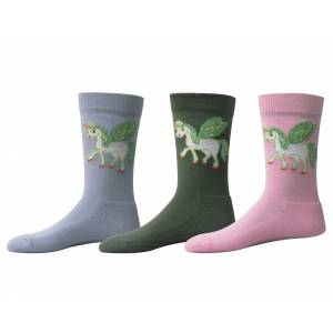 Tuffrider Kids' Unicorn Ankle Socks
