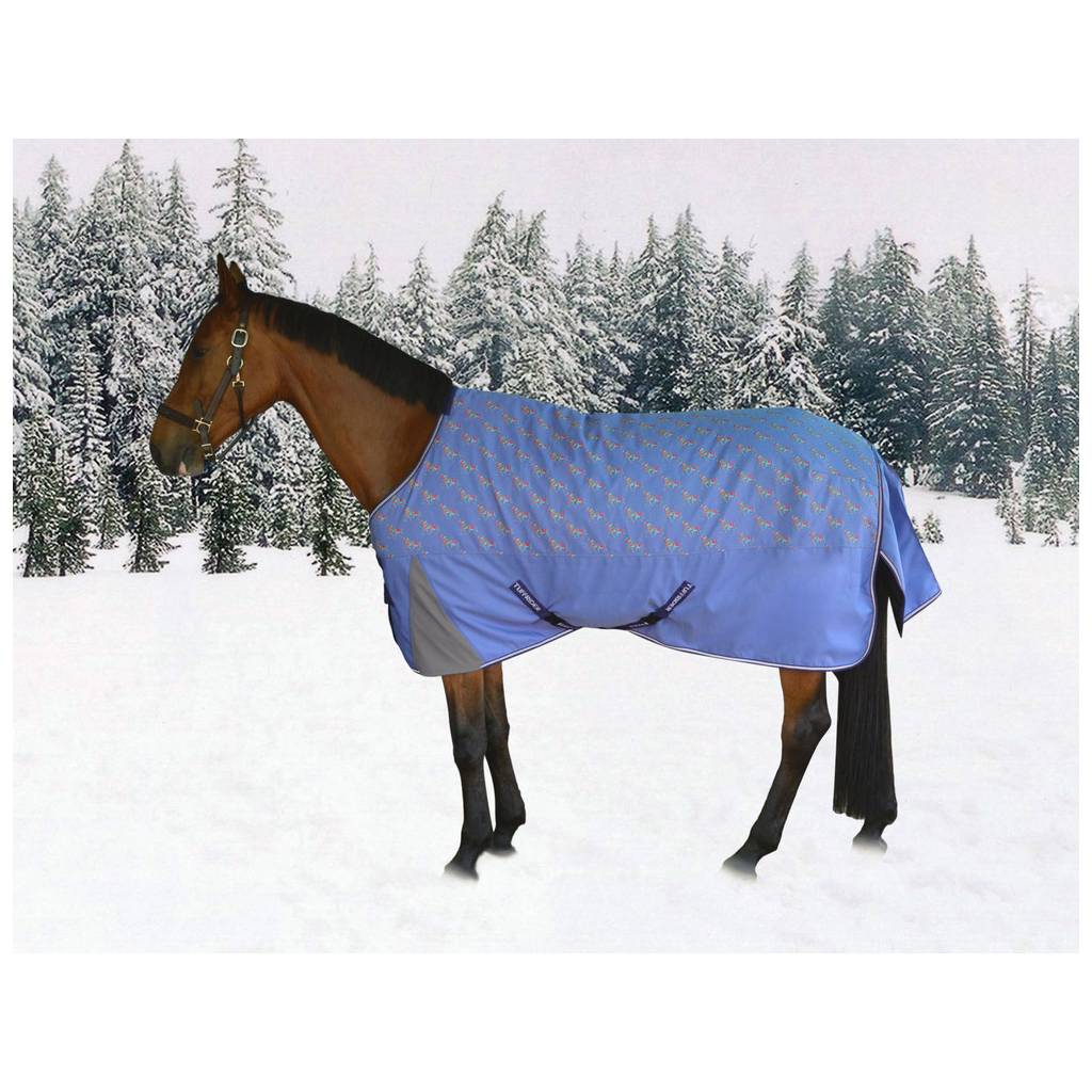 Tuffrider 1200D Ripstop Pony Print Turnout - 220 gms