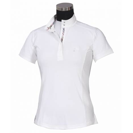 Equine Couture Cara Short Sleeve Show Shirt - Ladies