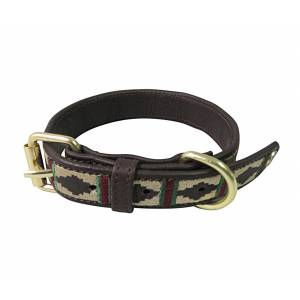 Halo Classic Leather Dog Collar