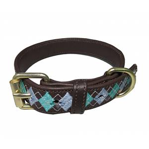 Halo Buffy Leather Dog Collar