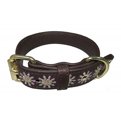 Halo Ava Leather Dog Collar