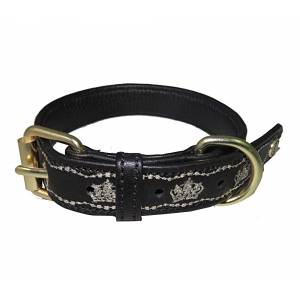 Halo Royal Leather Dog Collar