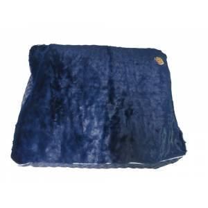 Halo Rectangular Plush Top Dog Bed