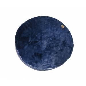 Halo Round Plush Top Dog Bed