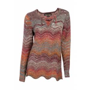 Noble Outfitters Denver Pointelle Pullover - Ladies